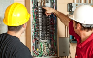 Electricians Replace 20 Amp Breaker